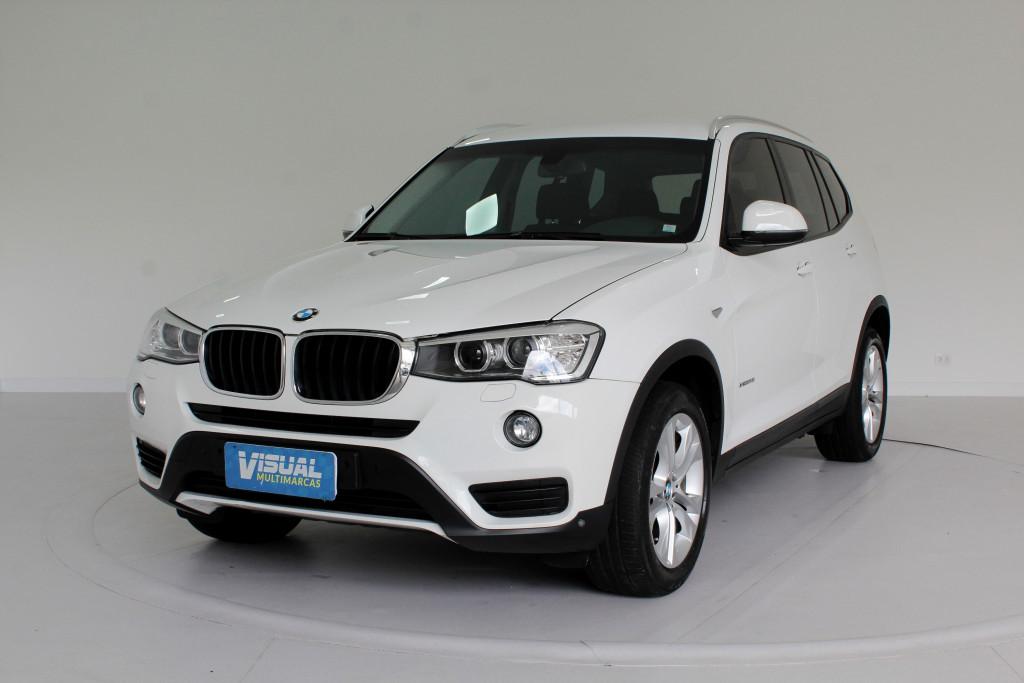 BMW X3 2.0 TURBO XDRIVE20I AWD 4P AUTOMÁTICO 8M - 2015 - BRANCO