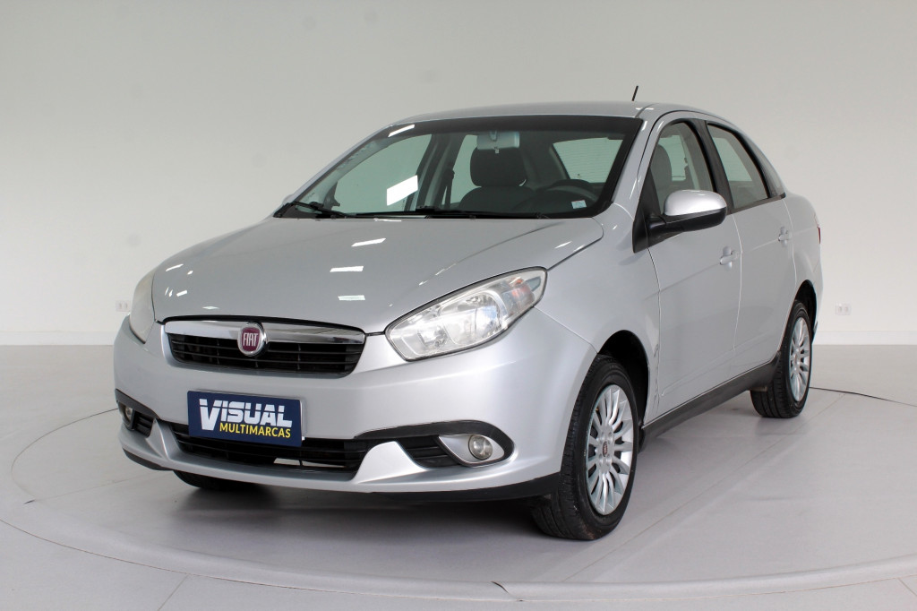 FIAT GRAND  SIENA 1.4 ATTRACTIVE FLEX 4P MANUAL - 2014 - PRATA