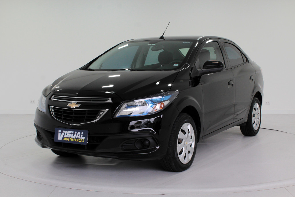 CHEVROLET PRISMA 1.4 LT FLEX 4P MANUAL - 2016 - PRETO