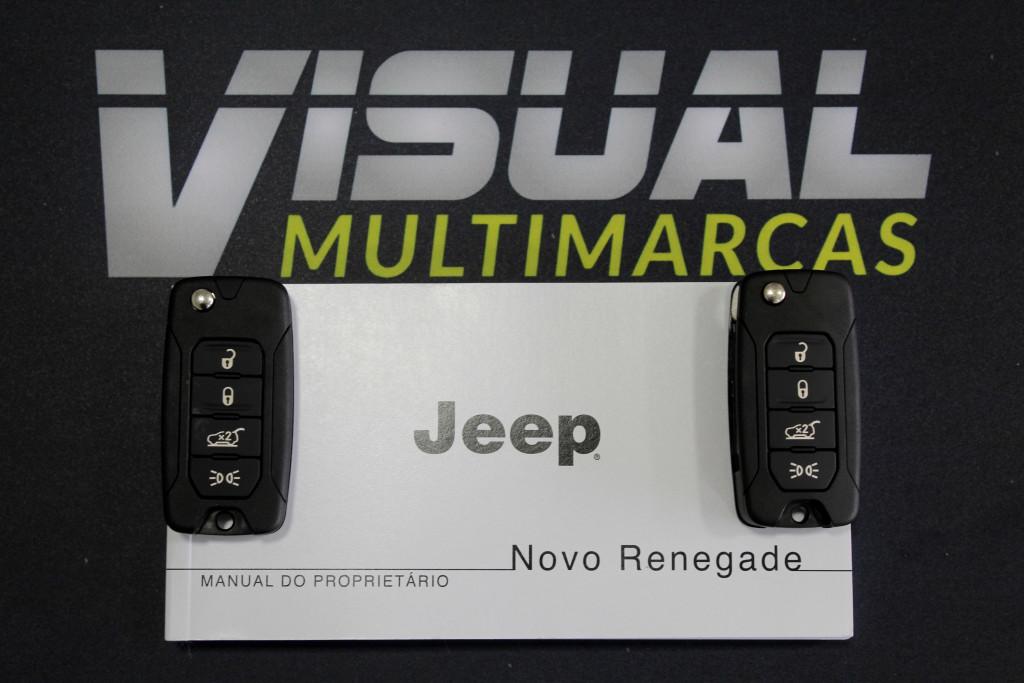 Imagem do veículo JEEP RENEGADE 1.8 SPORT FLEX 4P AUTOMÁTICO 6M - 2021 - BRANCO **0 KM**