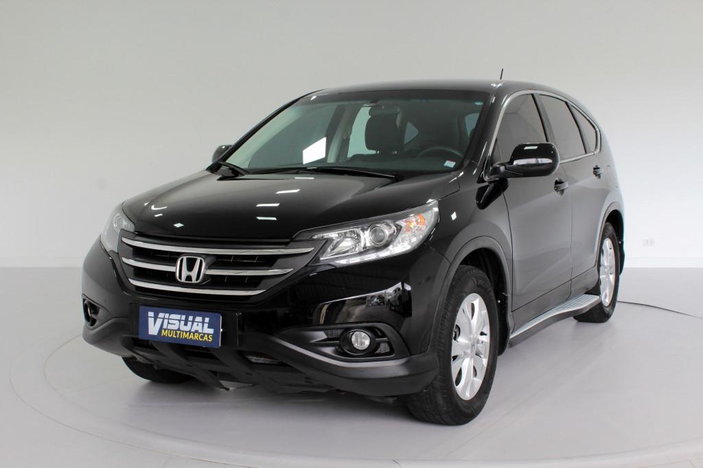 HONDA CR-V 2.0 LX 4P AUTOMÁTICO 5M - 2012 - PRETO