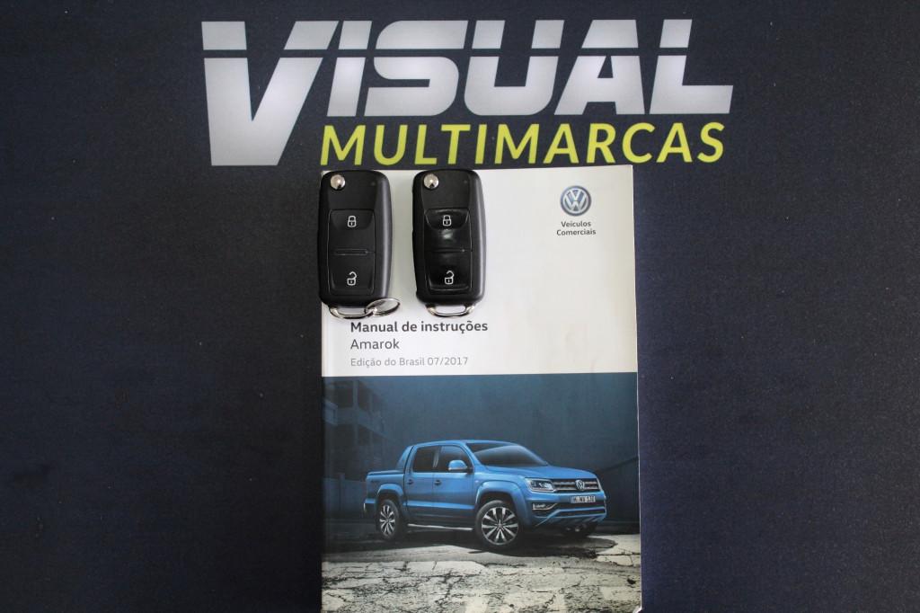 Imagem do veículo VOLKSWAGEN AMAROK 2.0 SE 4X4 CD TURBO DIESEL 4P MANUAL 6M - 2018 - BRANCO