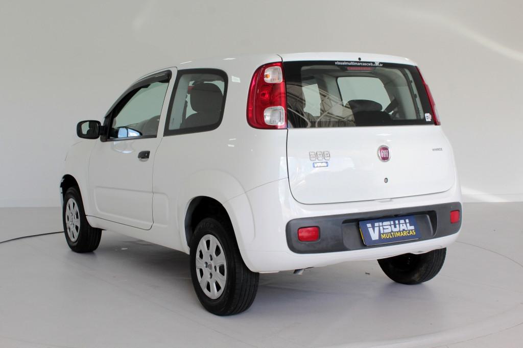 Imagem do veículo FIAT UNO 1.0 VIVACE FLEX 2P MANUAL - 2014 - BRANCO