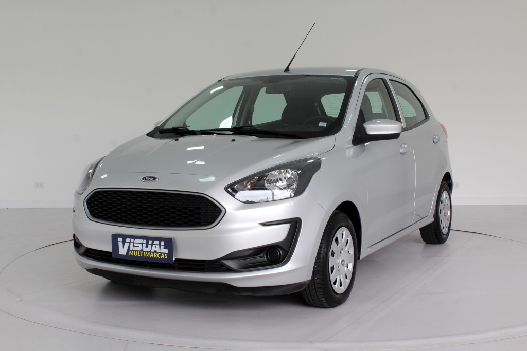 FORD KA 1.0 SE FLEX 4P MANUAL - 2019 - PRATA
