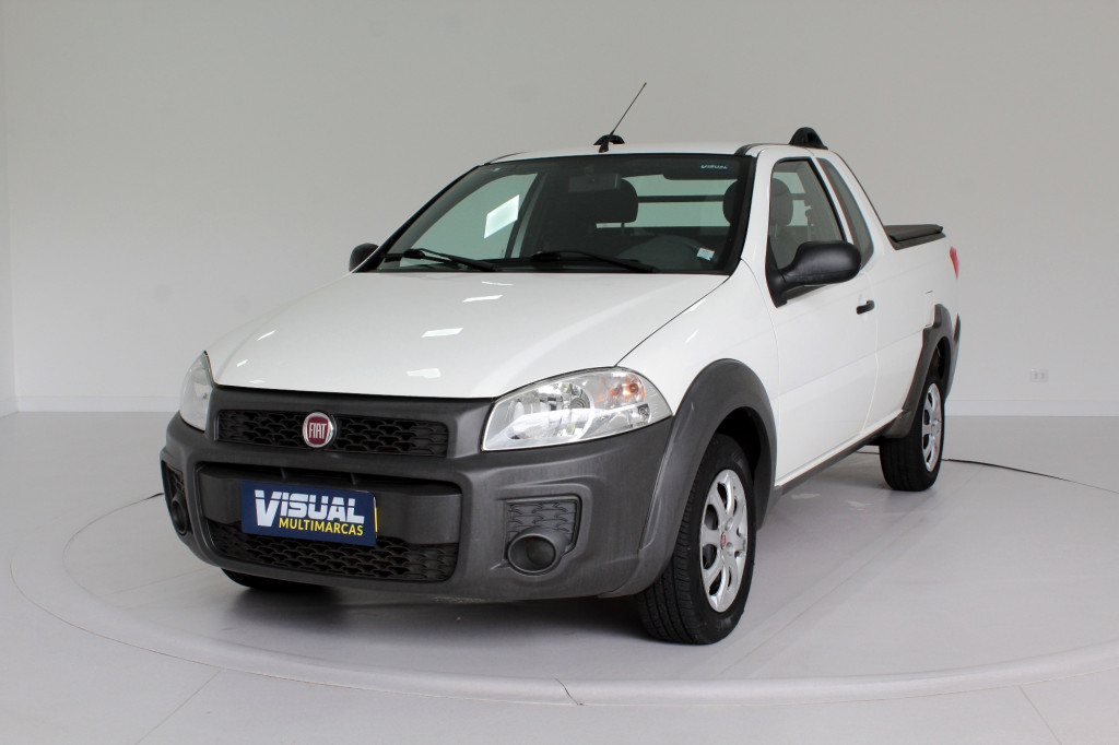 FIAT STRADA 1.4 HARD WORKING CE 2P MANUAL - 2020 - BRANCO