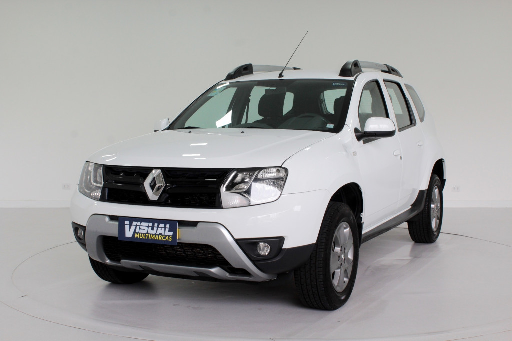 RENAULT DUSTER 1.6 DYNAMIQUE FLEX 4P MANUAL - 2019 - BRANCO
