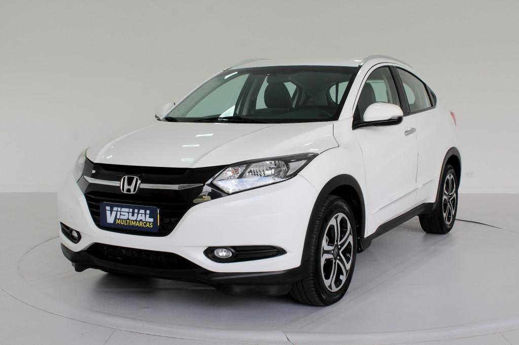 HONDA HR-V 1.8 EXL FLEX 4P AUTOMÁTICO CVT 7M - 2016 - BRANCO
