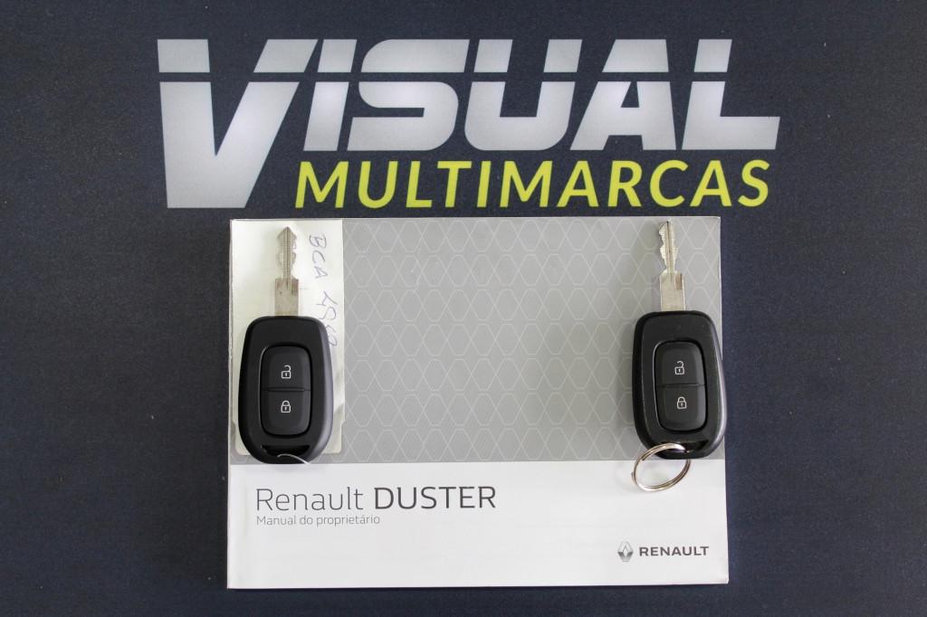 Imagem do veículo RENAULT DUSTER 1.6 DYNAMIQUE FLEX 4P MANUAL - 2019 - BRANCO