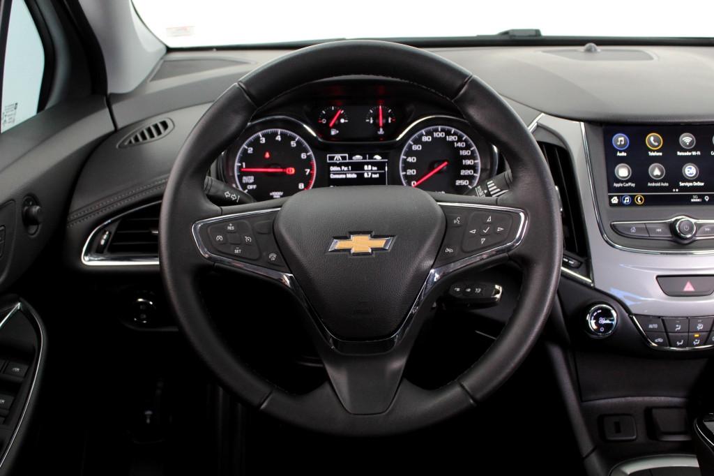 Imagem do veículo CHEVROLET CRUZE 1.4 TURBO LT FLEX 4P AUTOMÁTICO 6M - 2020 - AZUL