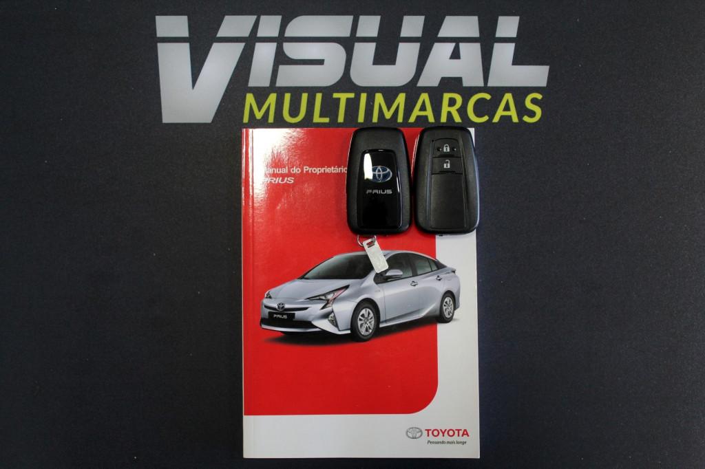 Imagem do veículo TOYOTA PRIUS 1.8 HÍBRIDO 4P AUTOMÁTICO CVT - 2018 - BRANCO PÉROLA