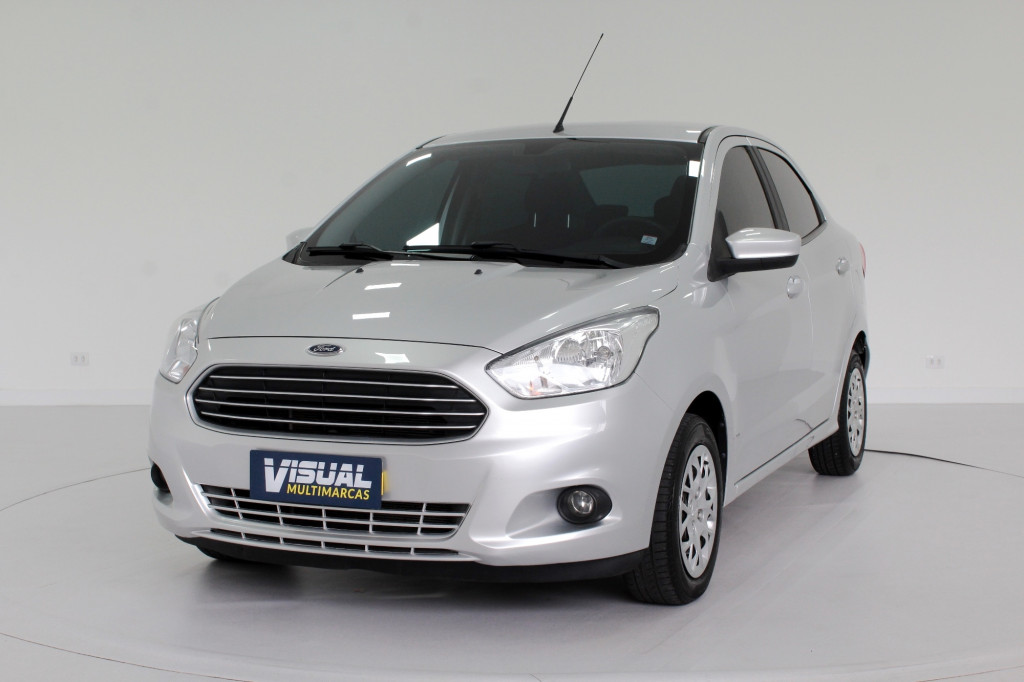 FORD KA 1.5 SE FLEX 4P MANUAL - 2018 - PRATA