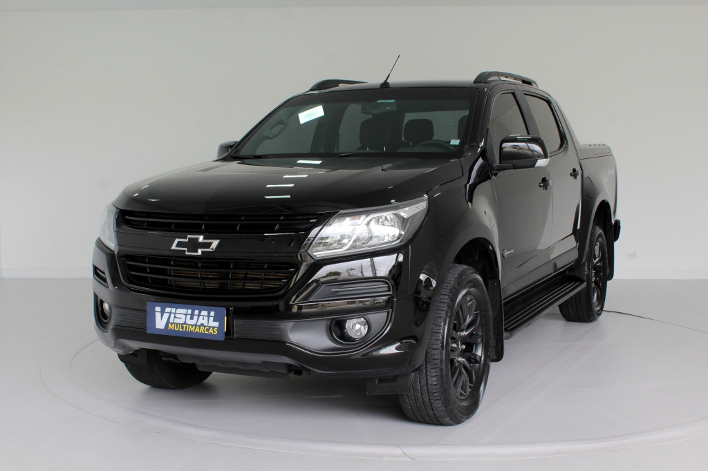 CHEVROLET S10 2.8 MIDNIGHT CD TURBO DIESEL 4X4 4P AUTOMÁTICO 6M - 2019 - PRETO