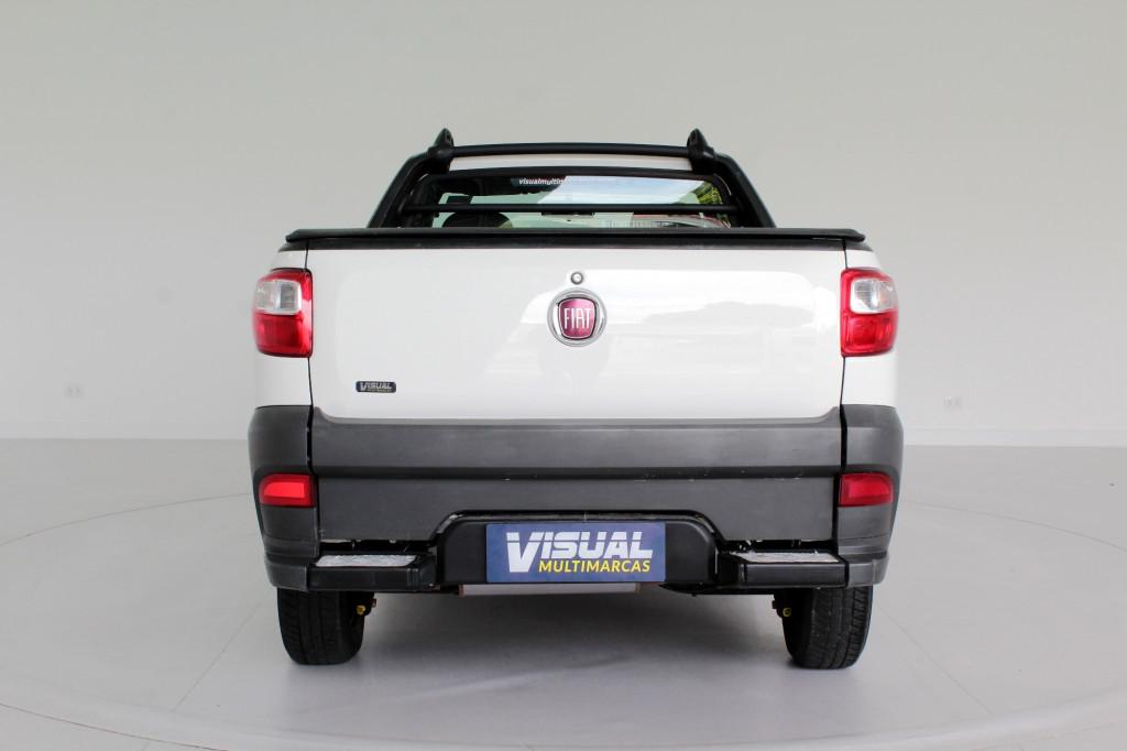 Imagem do veículo FIAT STRADA 1.4 HARD WORKING CS 2P FLEX MANUAL - 2018 - BRANCO