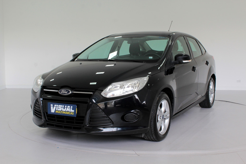 Imagem do veículo FORD FOCUS 1.6 S FLEX 4P MANUAL - 2014 - PRETO
