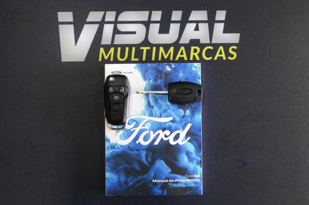 Imagem do veículo FORD KA 1.5 SE FLEX 4P AUTOMÁTICO 6M - 2019 - PRETO