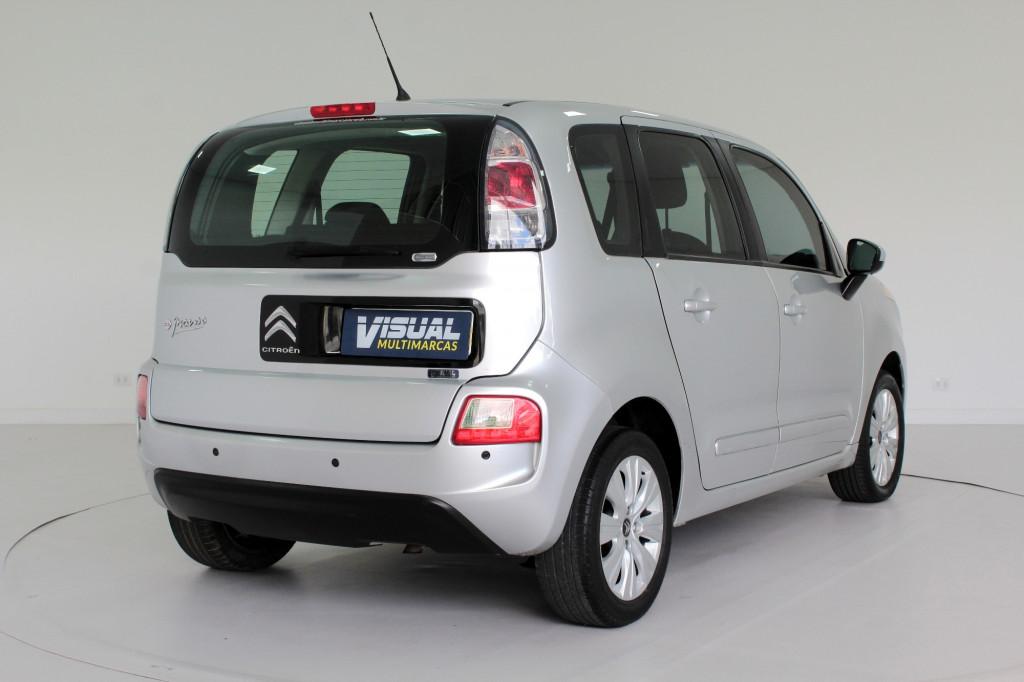Imagem do veículo CITROËN C3 PICASSO 1.6 GLX FLEX 4P AUTOMÁTICO - 2014 - PRATA