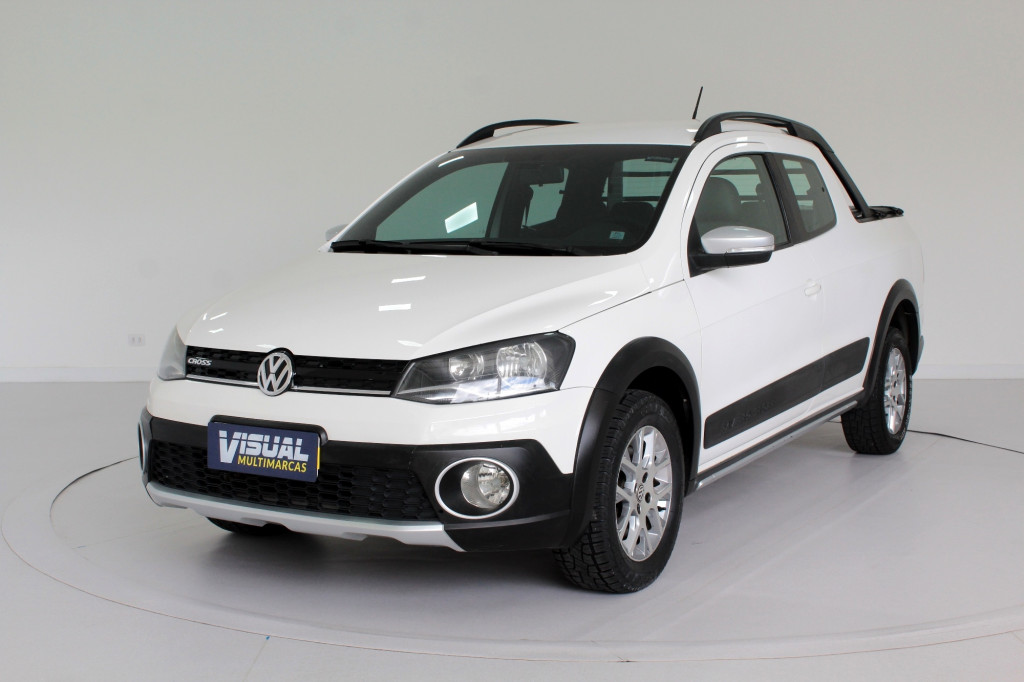 VOLKSWAGEN SAVEIRO 1.6 CROSS CD FLEX 2P MANUAL - 2015 - BRANCO