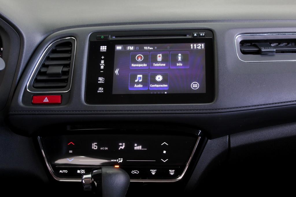 Imagem do veículo HONDA HR-V 1.8 EXL FLEX 4P AUTOMÁTICO CVT 7M - 2016 - PRETO