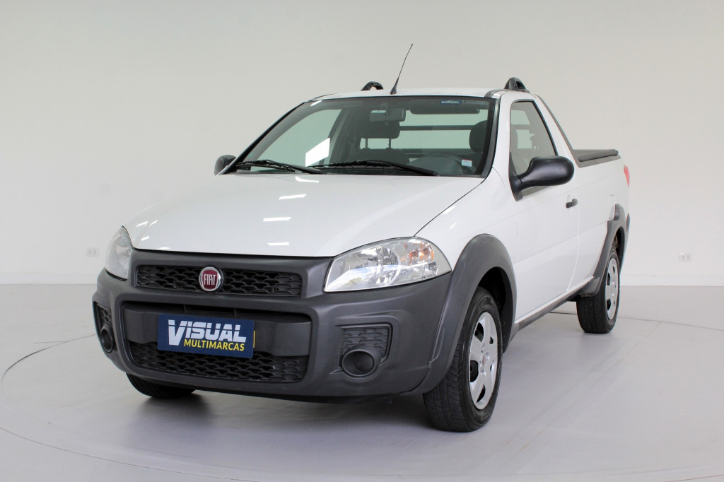 Imagem do veículo FIAT STRADA 1.4 HARD WORKING CS FLEX 2P MANUAL - 2020 - BRANCO