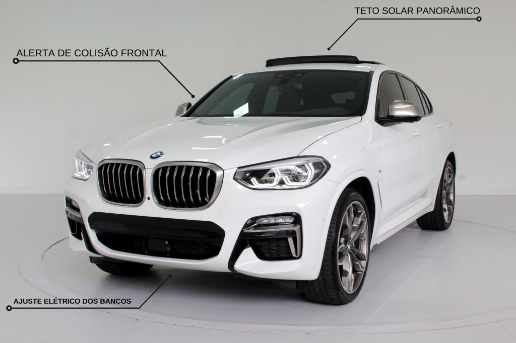 BMW X4 3.0 M40I TWINPOWER AWD 4P AUTOMÁTICO 8M - 2021 - BRANCO (**UNIDADE DISPONÍVEL A PRONTA ENTREGA**)