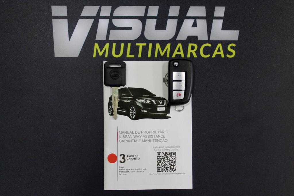 Imagem do veículo NISSAN KICKS 1.6 SPECIAL EDITION 4P MANUAL - 2020 - BRANCO PÉROLA