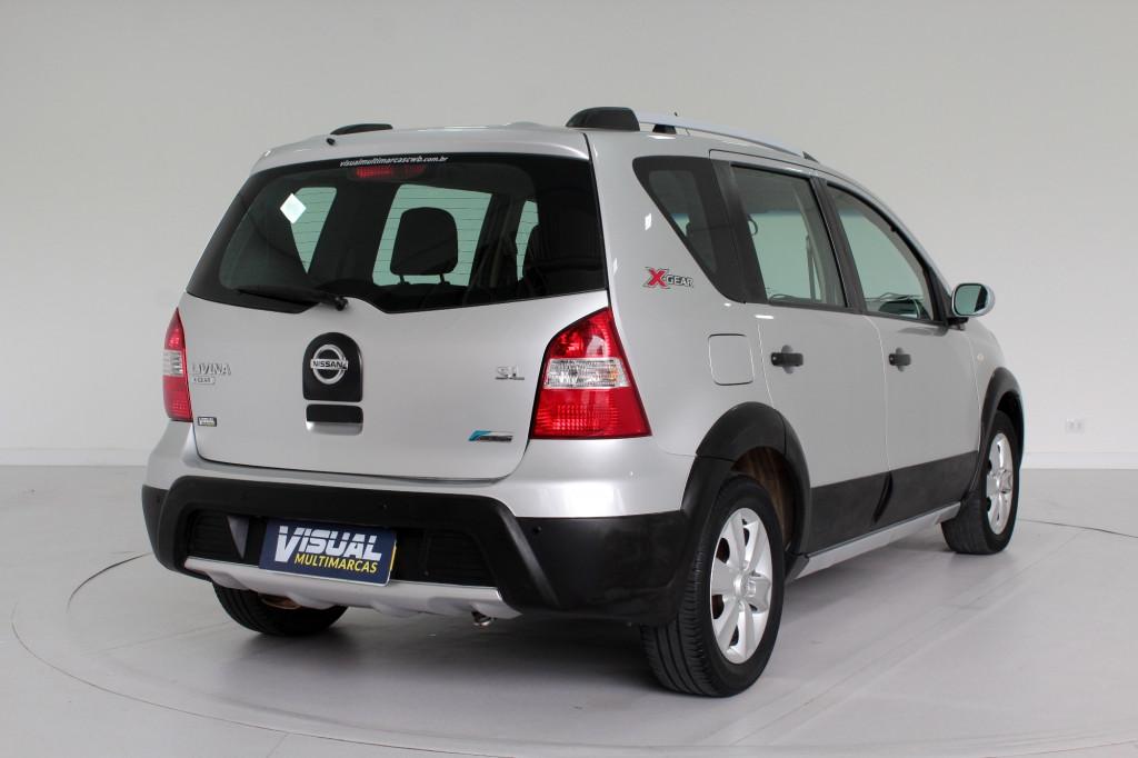 Imagem do veículo NISSAN LIVINA 1.8 SL X-GEAR FLEX 4P AUTOMÁTICO - 2013 - PRATA