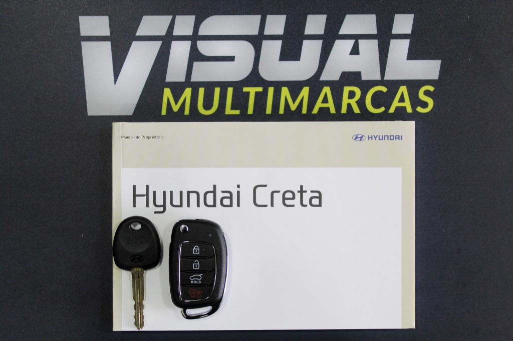 Imagem do veículo HYUNDAI CRETA 1.6 ACTION FLEX  AUTOMÁTICO 6M - 2021 - BRANCO