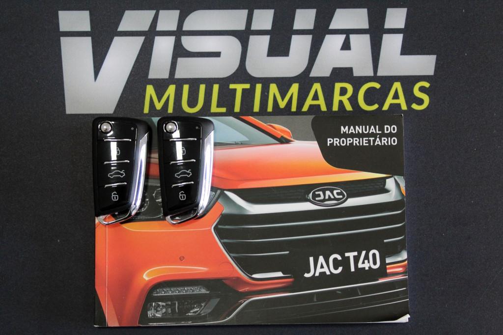 Imagem do veículo JAC T40 1.6 4P AUTOMATICO CVT 6M - 2019 - BRANCO
