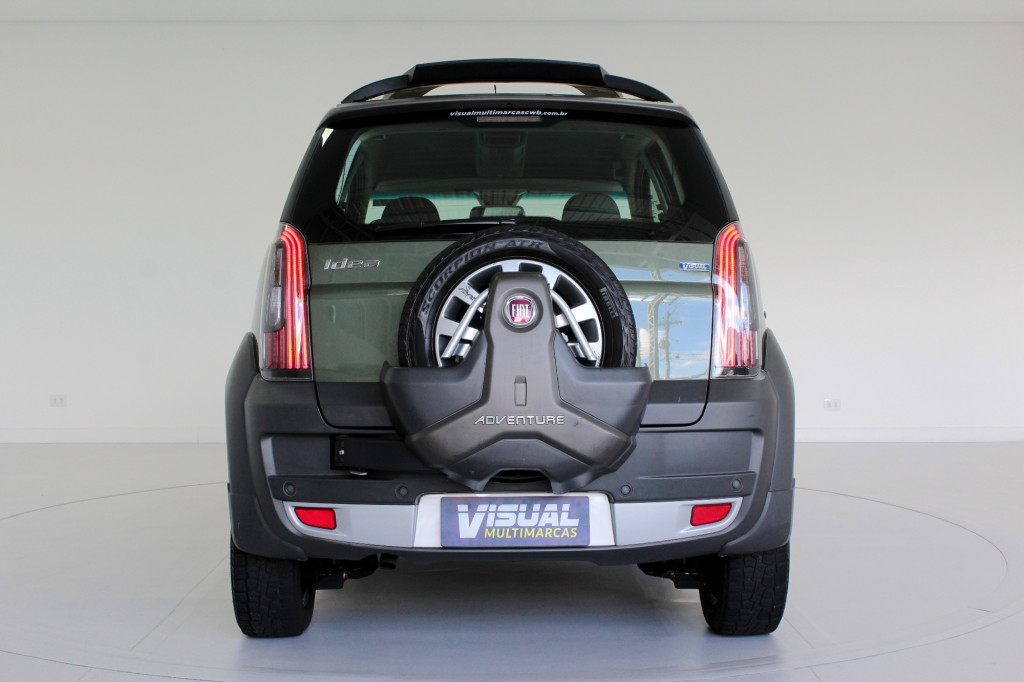 Imagem do veículo FIAT IDEA 1.8 ADVENTURE FLEX 4P MANUAL - 2016 - VERDE
