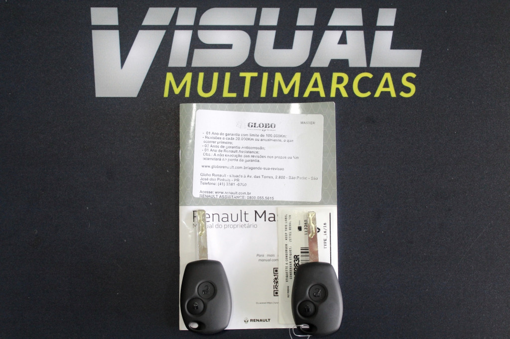 Imagem do veículo RENAULT MASTER 2.3 CHASSI BAÚ TURBO DIESEL 2P MANUAL - 2021 - BRANCO
