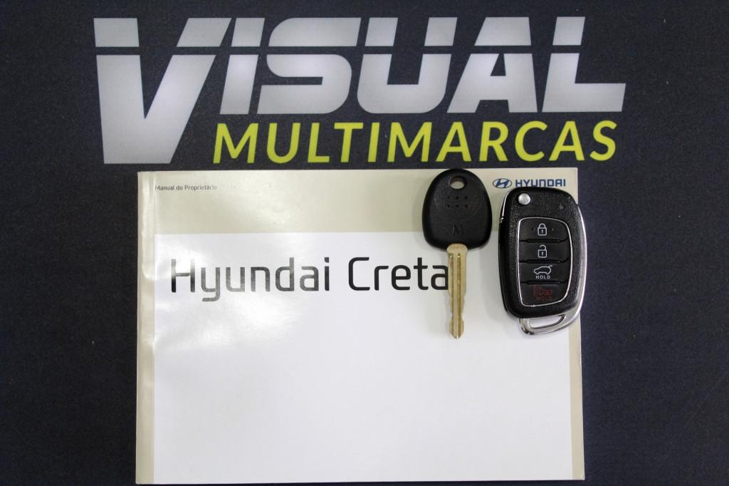 Imagem do veículo HYUNDAI CRETA 1.6 PULSE FLEX MANUAL 6M - 2018 - PRETO