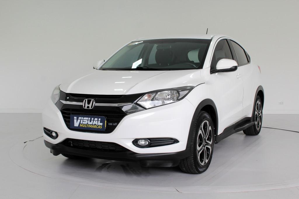 HONDA HR-V 1.8 LX FLEX 4P AUTOMÁTICO CVT 7M - 2017 - BRANCO