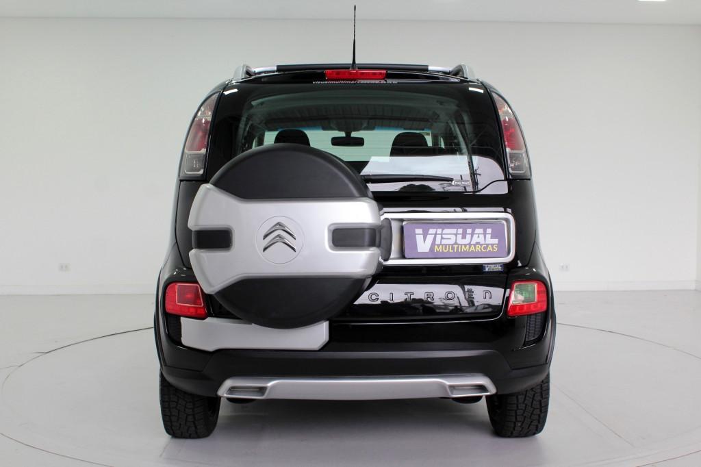 Imagem do veículo CITROËN AIRCROSS 1.6 GLX FLEX 4P AUTOMÁTICO - 2014 - PRETO