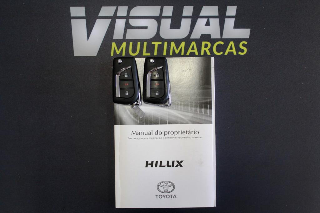 Imagem do veículo TOYOTA HILUX 2.7 SRV FLEX 4P AUTOMÁTICO 6M - 2017 - PRATA