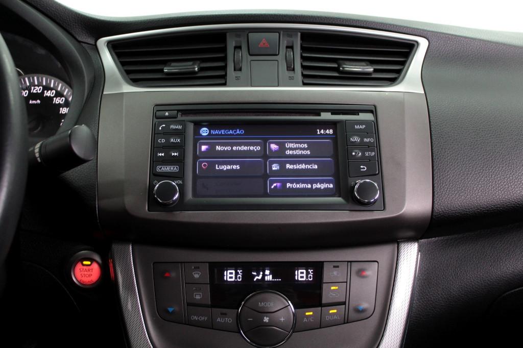 Imagem do veículo NISSAN SENTRA 2.0 SL FLEX 4P AUTOMÁTICO CVT - 2016 - PRETO