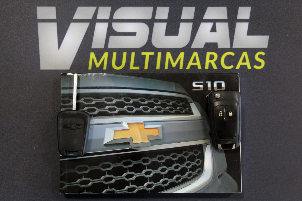 Imagem do veículo CHEVROLET S10 2.4 ADVANTAGE CD FLEX MANUAL - 2016 - BRANCO