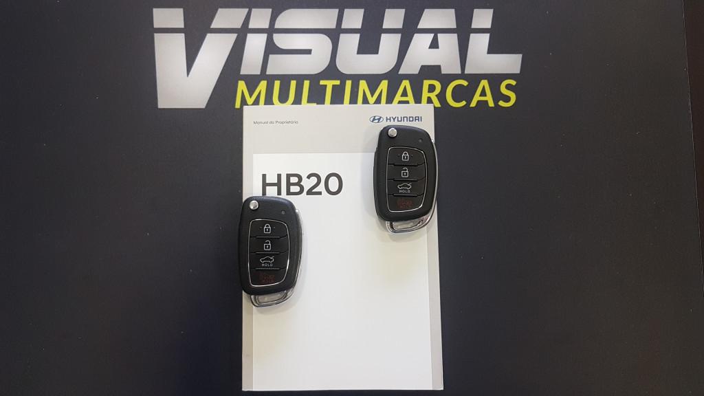 Imagem do veículo HYUNDAI HB20S 1.0 VISION FLEX 4P MANUAL - 2020 - PRETO