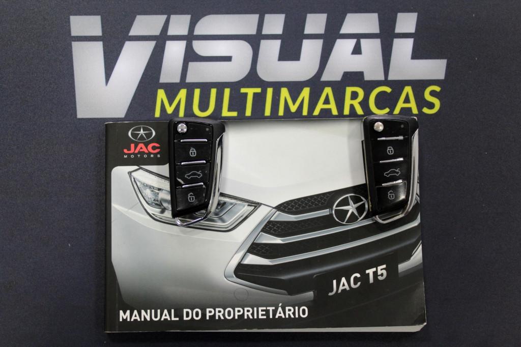 Imagem do veículo JAC T5 1.5 FLEX 4P MANUAL 6M - 2017 - PRATA
