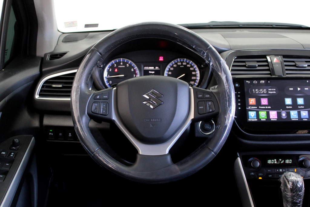 Imagem do veículo SUZUKI S-CROSS SX4 1.4 TURBO 4STYLE ALLGRIP  AUTOMÁTICO 6M - 2018 - CINZA