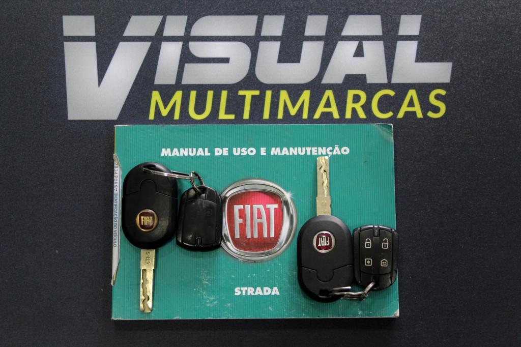 Imagem do veículo FIAT STRADA 1.4 WORKING CS 2P FLEX MANUAL - 2017 - BRANCO