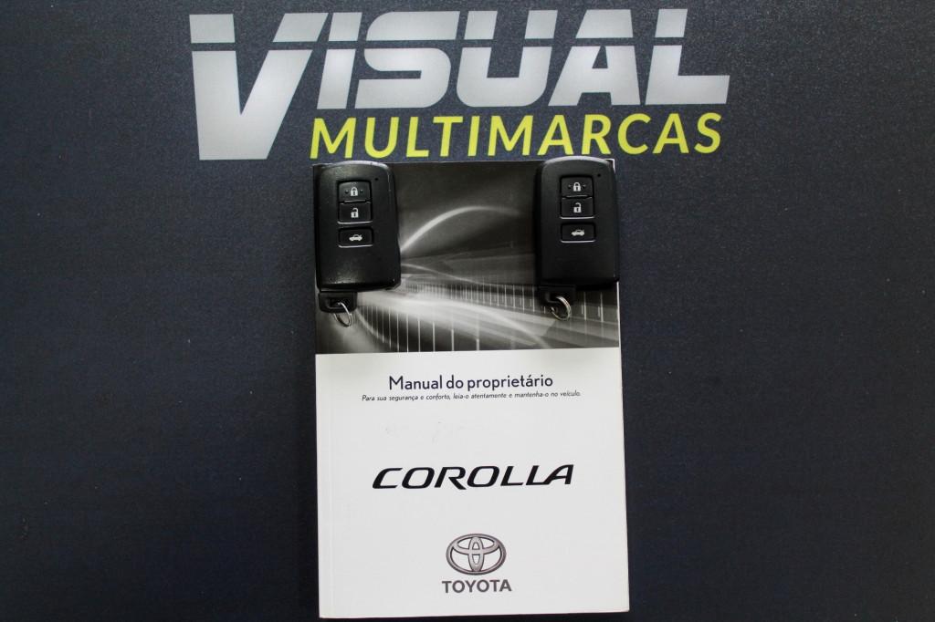 Imagem do veículo TOYOTA COROLLA 2.0 XEI FLEX 4P AUTOMÁTICO CVT 7M - 2018 - PRATA