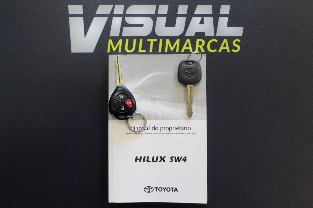 Imagem do veículo TOYOTA HILUX SW4 3.0 SRV 4X4 TURBO DIESEL 4P AUTOMÁTICO - 2015 - BRANCO