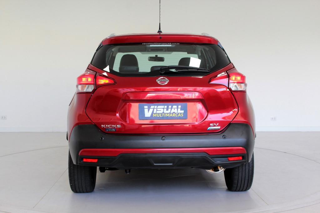 Imagem do veículo NISSAN KICKS 1.6 SV FLEX AUTOMÁTICO CVT - 2018 - VERMELHA