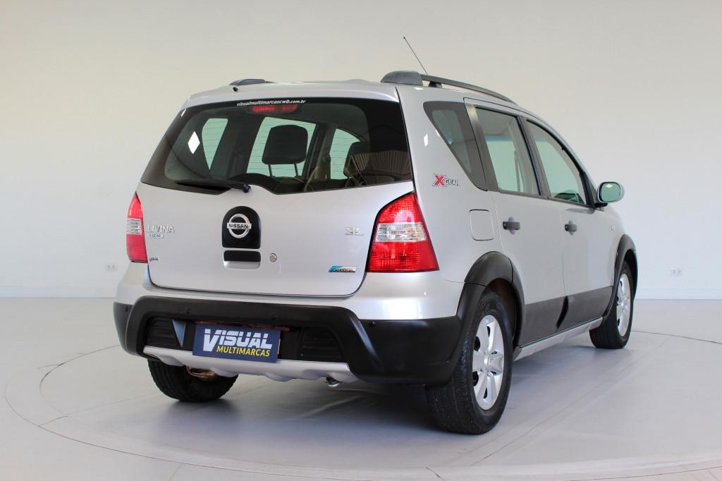 Imagem do veículo NISSAN LIVINA 1.6 X-GEAR FLEX MANUAL - 2011 - PRATA