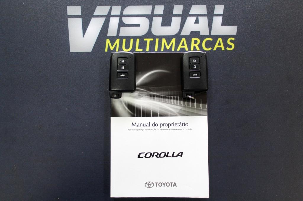 Imagem do veículo TOYOTA COROLLA 2.0 ALTIS FLEX AUTOMATICO CVT 7M - 2016 - PRATA