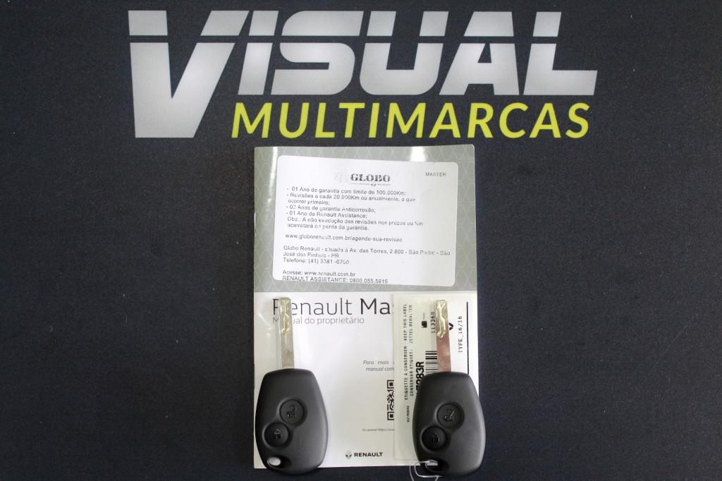 Imagem do veículo RENAULT MASTER 2.3 TURBO DIESEL FURGÃO MANUAL - 2020 - BRANCO