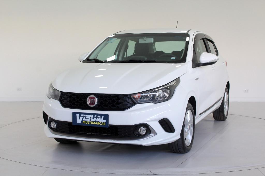 FIAT ARGO 1.3 DRIVE FLEX AUTOMATIZADO 5M - 2018 - BRANCO