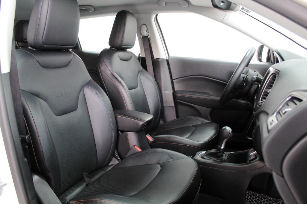 Imagem do veículo JEEP COMPASS 2.0 LONGITUDE BEATS FLEX AUTOMÁTICO 6M - 2018 - BRANCO