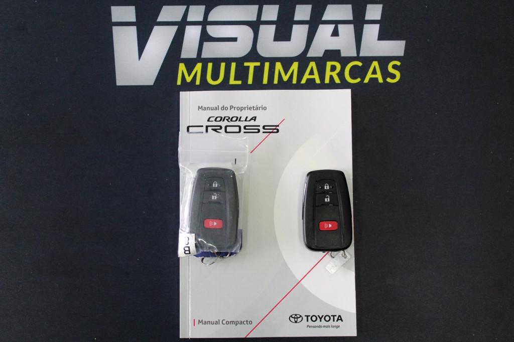Imagem do veículo TOYOTA COROLLA CROSS 2.0 XRE FLEX AUTOMÁTICO CVT 10M - 2022 -  CINZA ** 0 KM ** UNIDADE DISPONÍVEL A PRONTA ENTREGA