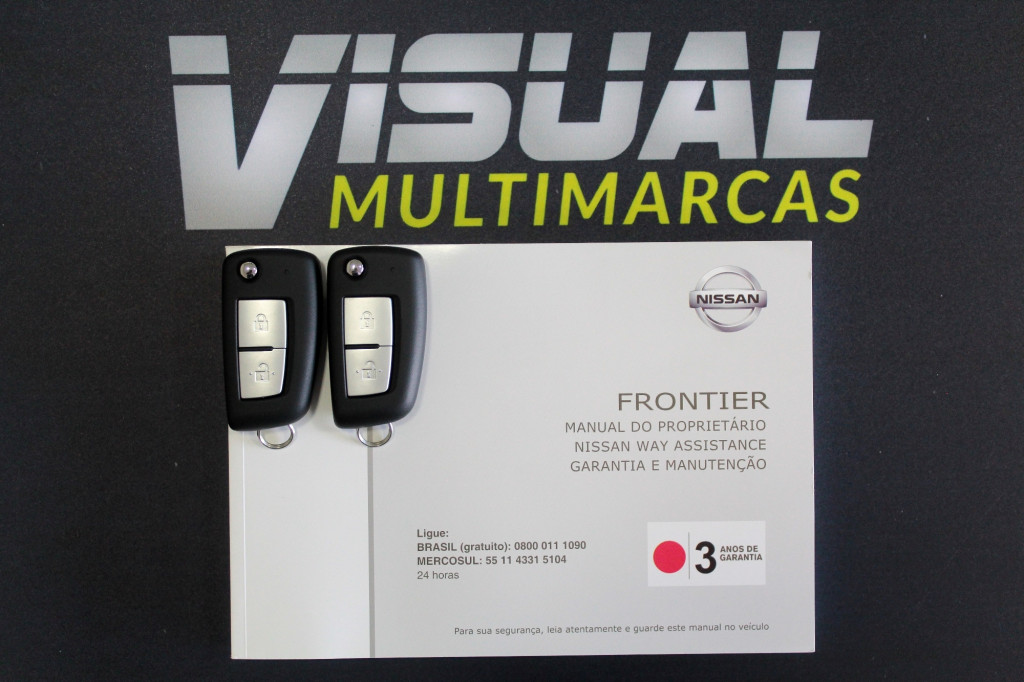 Imagem do veículo NISSAN FRONTIER 2.3 ATTACK TURBO DIESEL CD 4X4 AUTOMÁTICO 7M - 2021 - BRANCO ** 0 KM ** UNIDADE DISPONÍVEL A PRONTA ENTREGA